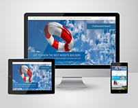 Website Landing Page || PSD