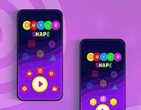 Build Shape Game UI and Game Design Work