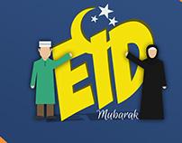 Eid Mubarak 4K Wallpaper 2017