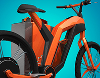 Soka. Electric bike. 2012