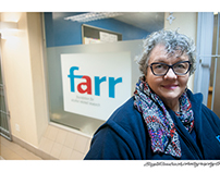 From my files - FARR, environmental portrait.