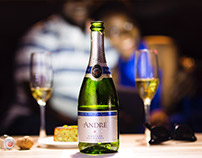 Andre Sparkling Wine social media contents