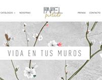 Sitio web Papel Pintado