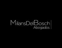 Identidad Corporativa. Milans Del Bosch.