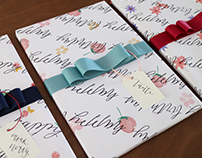 Custom Wrapping Paper