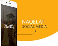Naqelat Social Media Design