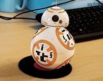 BB8 3D Tracking & Compositing