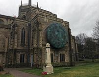 Blackburn Cathedral & modern sculpture