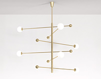 Free 3d model / Chandelier 08 by Magis Circus Éditions