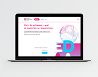 EDAA Branding Website and Ads