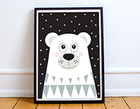 Polar Bear / Design Prints