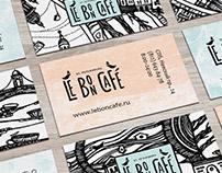 Le Bon Cafe Identity