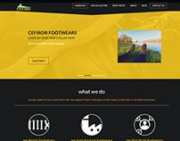 Footwear Website Concept
