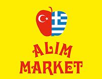 Alim Market – title design