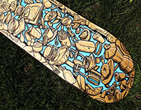 Brunch Skateboard Deck Design