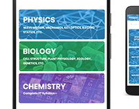 Prepare - Study / Education / Learning UI