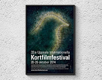 Poster/trailer Uppsala Int. Short Film Festival 2014