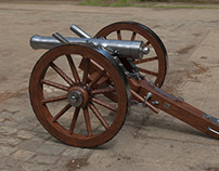 1861 Dahlgren Cannon (Civil War)