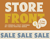 Storefront Display Typeface