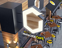 Paradise Cafe Shopfront Design