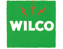 "WILCO logo & new album ""Schmilco"" cover"