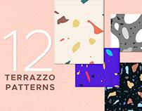 12 Terrazzo Patterns