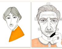 Faces of Men