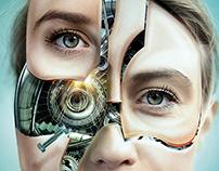 Robot Woman - Tutorial Photoshop Creative