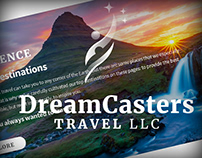 DreamCasters Travel Branding