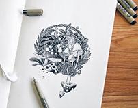 平日练习小画