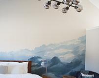 Mountain Mural Wall