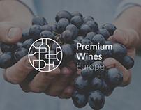 Premium Wines Europe Branding