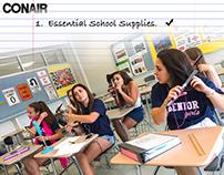Conair- Essential School Supplies