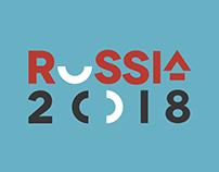 FIFA WORLD CUP RUSSIA 2018. Multimedia content. Concept