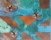 Collaborative works, Can Serrat Art Residency, 2016
