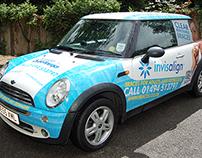 Octagon Orthodontics - Blue Car Wrap