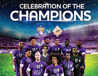 Al Ain Football Club Print Campaign