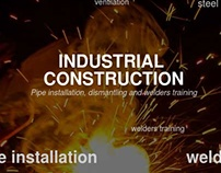 Industrial construction company