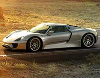 Porsche 918 CGI