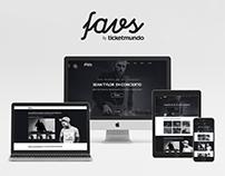 Favs: Branding + UI