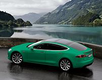 Pixel - Green like a Tesla