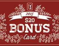 2015 TPC Network Bonus Card Campaign