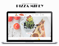 Web-site/ Logotype/ Pizza Mikey