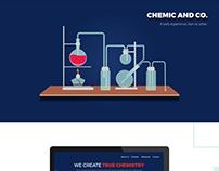 Chemical Company Website UI