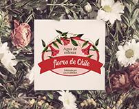 Marcas rediseño Agua de colonia Flores de Chile