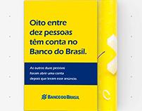 Banco do Brasil - anúncio de revista