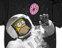 The Simpsons Licensed Tees