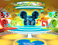 Disney channel TV set concept