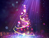 Vibrant Christmas Wallpaper 2015 By Prince Pal