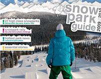 EDITORIAL design: Snow Park Guide
